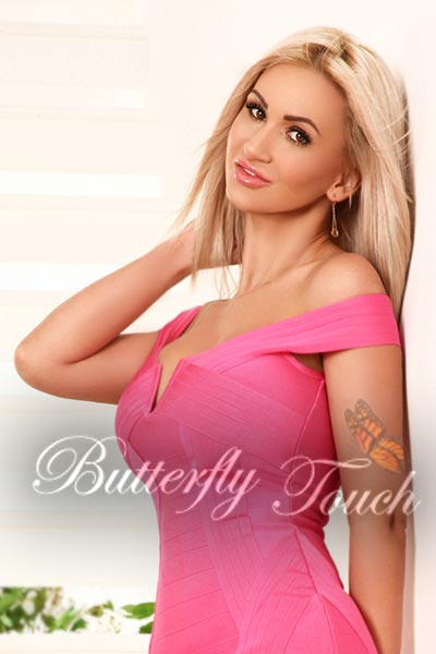 london top busty blonde escort Izabella